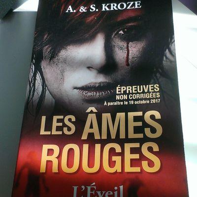 Les âmes rouges : l'éveil de A. et S. Kroze aux éditions PKJ