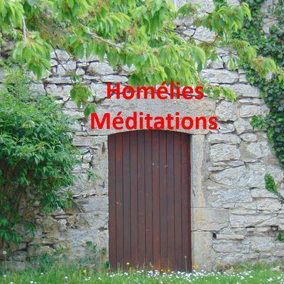 Homélies, méditations