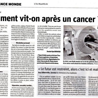 Comment vit-on après un cancer