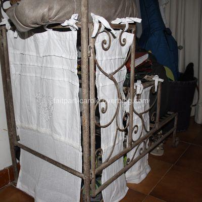 rideau pour meuble
