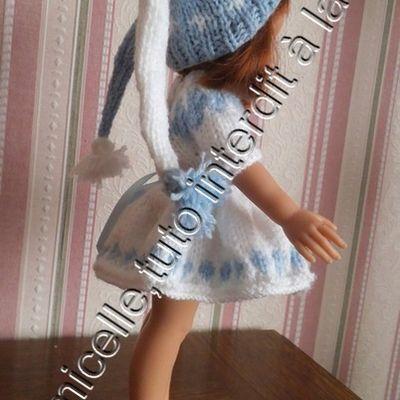 tuto gratuit poupée : bonnet à couettes