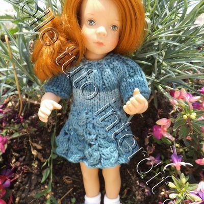 tuto gratuit poupée : robe bas irlandais