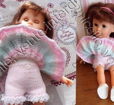 tuto gratuit poupée : culotte -panty à dentelle