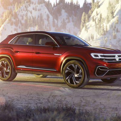Volkswagen Atlas Cross Sport Concept au salon de New York !