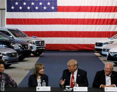 Taxe sur les véhicules importés aux USA