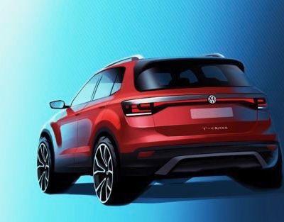 Volkswagen tease le T-Cross!