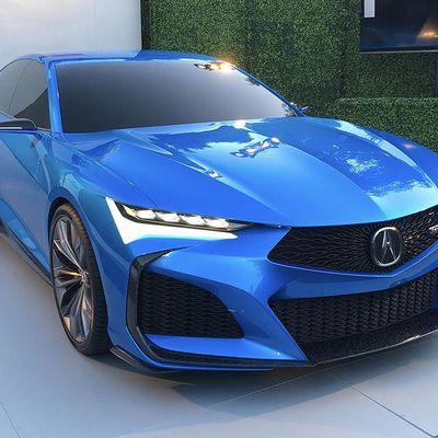 Acura Type S Concept: ca en jette!