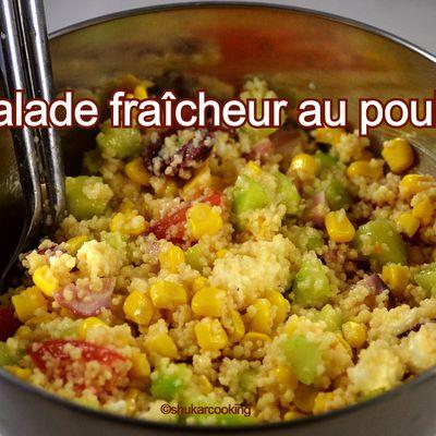 Salade fraîcheur au poulpe