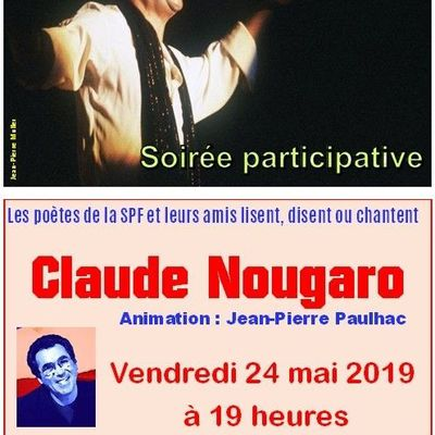 SOIREE CLAUDE NOUGARO