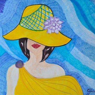 N110_2020 Yellow hat