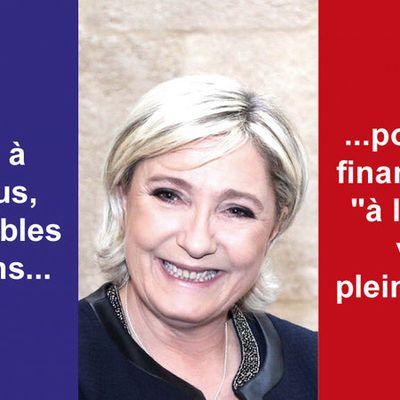 Pour la levée de l'immunité parlementaire de Marine Le Pen !