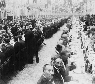 Samedi 22 septembre 1900 : un banquet à la gloire de la République