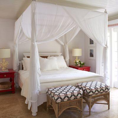 Le lit à baldaquin: un lit de rêve