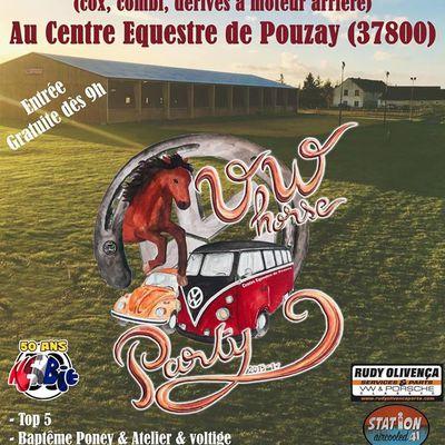 VW Horse Party , le dimanche 16 juin 2019. L'affiche officielle est parue.