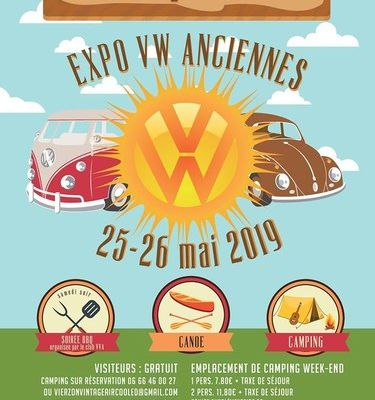 Camping's VW. Expo VW Anciennes. Le 25-26 Mai 2019.