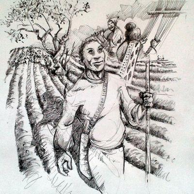 Gibran - le prophète - le Travail
