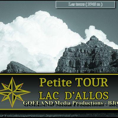 LAC d'ALLOS en AOUT- PETITE TOUR - par Col de l'encombrette