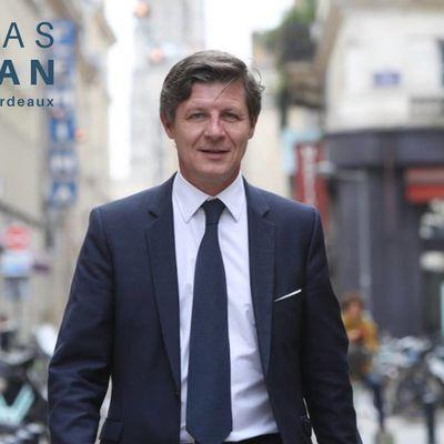NICOLAS FLORIAN, NOUVEAU MAIRE DE BORDEAUX