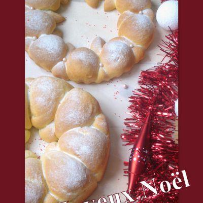 Brioches Buchty de Noël
