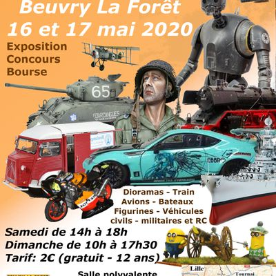EXPO BEUVRY LA FORET 2020 ..........ANNULEE !