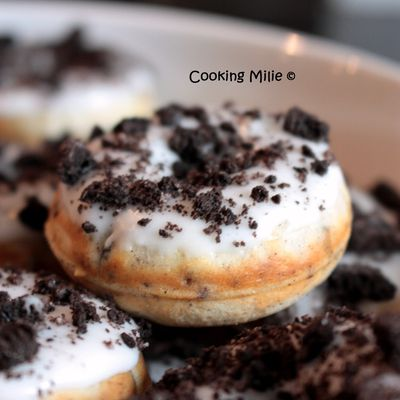 Donuts aux Oreos