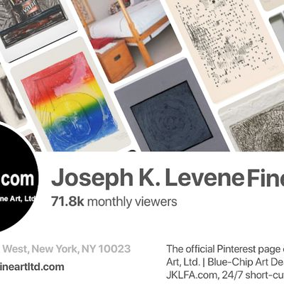 Join 10,000 followers of Joseph K. Levene Fine Art, Ltd. on Pinterest.