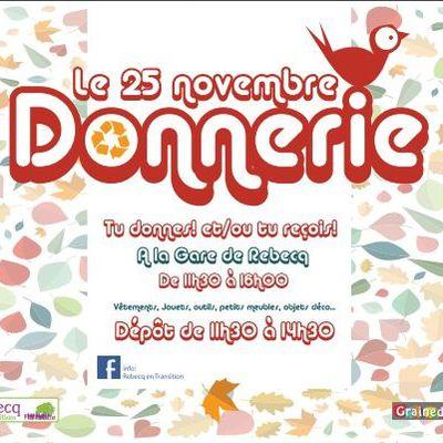 25 novembre 2017 Donnerie à l'Ancienne Gare de Rebecq