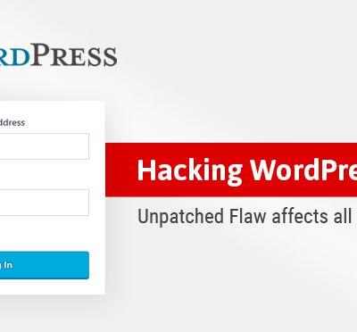 Wordpress: Une vulnérabilité non corrigée pourrait permettre à des hackers de réinitialiser le mot de passe de l'administrateur