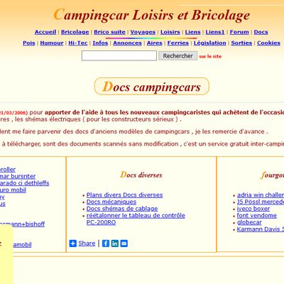 Camping-car Loisirs et Bricolage