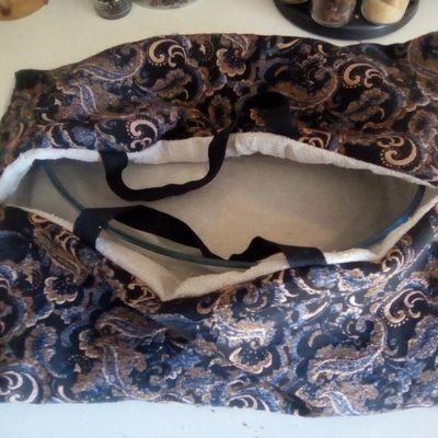 Atelier couture : sac à tarte
