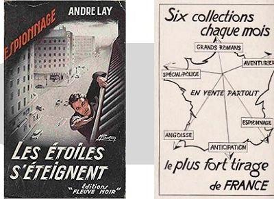 André Lay: Les étoiles s'éteignent (Fleuve Noir Espionnage, 1956)