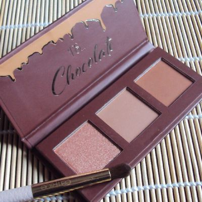 Chocolate eyeshadow palette de P.S. (Primark)