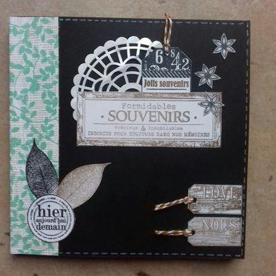 Mini-album 4 enveloppes