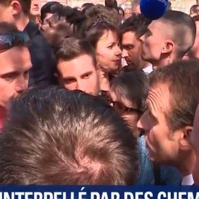 Macron hué par la foule et interpellé par des cheminots dans les Vosges (VIDEOS)