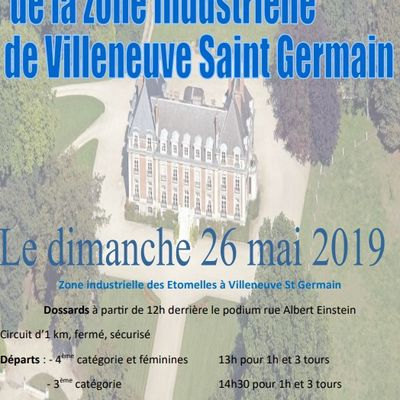 [Cyclosport] Course de VILLENEUVE ST-GERMAIN du 26/05/19