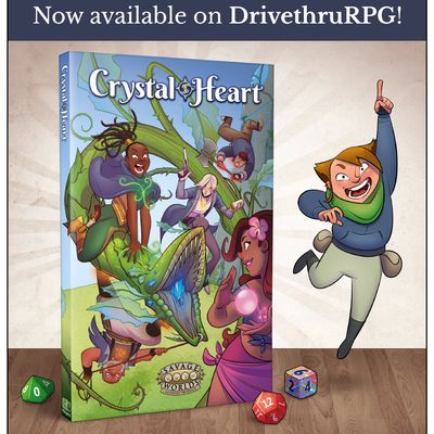 Crystal Heart RPG, enfin disponible