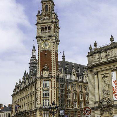 Bâtiment chambre du commerce et de l'industrie à Lille
