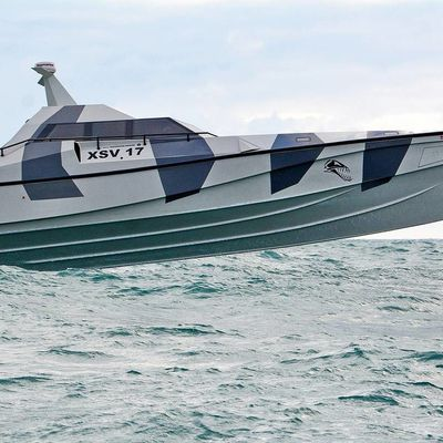 Thunder Child XSV-17 : Barracuda family of boats, in any maritime application where speed is critical - a Safehaven Marine production