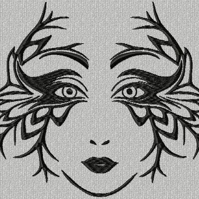 visage masqué