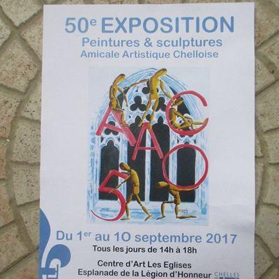 Exposition aux Eglises à Chelles