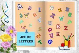 Jeu de lettres...