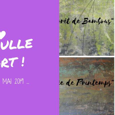 Ma Bulle d'Art : l'expo de Mai (2019)...