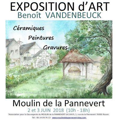 EXPOSITION Céramique, peinture et gravure samedi 2 et dimanche 3 juin