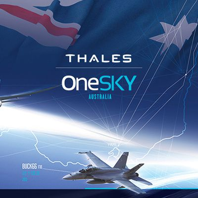 Australia and Thales to deploy world's largest air traffic control system covering 11% of the globe