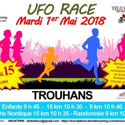 Mardi 1 er mai 2018 - UFO race - Trouhans