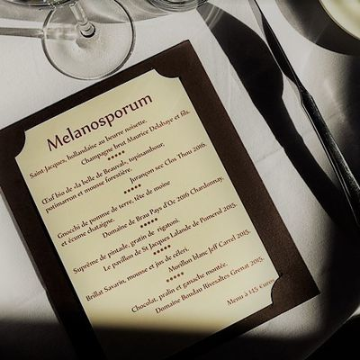 Photos menu truffe restaurant le colombier offranville
