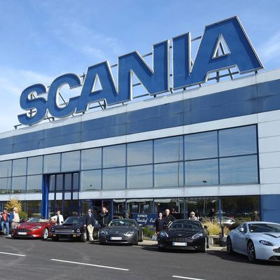 L'AMOC France en visite chez SCANIA PRODUCTION ANGERS !
