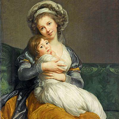 Madame Vigée Le Brun chez Ladie Marianne, le tableau du samedi