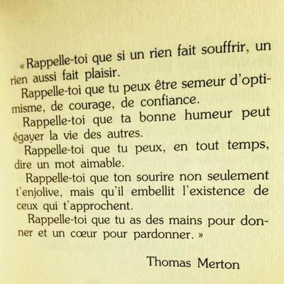 Citation de la semaine