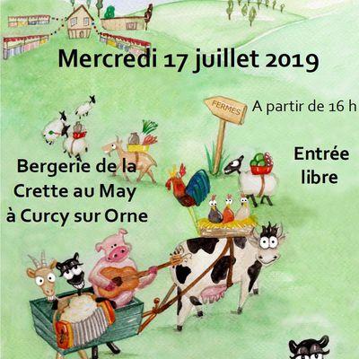 Marché paysans et festifs 17 juillet 2019